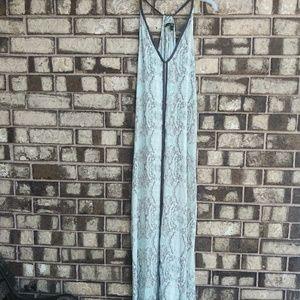 LoveStitch python print maxi dress size large